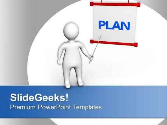Show The Business Plan To Your Clients PowerPoint Templates Ppt Backgrounds For Slides 0713