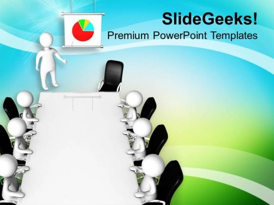 Show The Business Result To Your Team PowerPoint Templates Ppt Backgrounds For Slides 0613