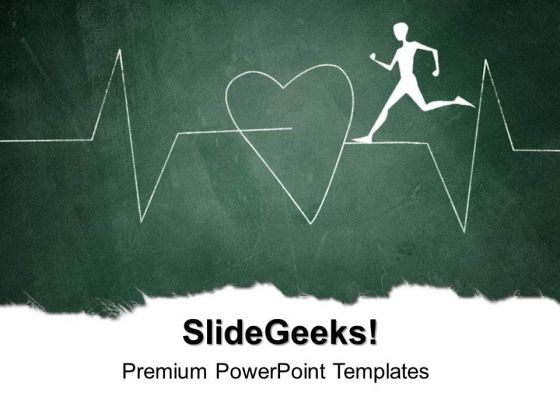 Showing Heart Beat Health PowerPoint Templates And PowerPoint Themes 0512