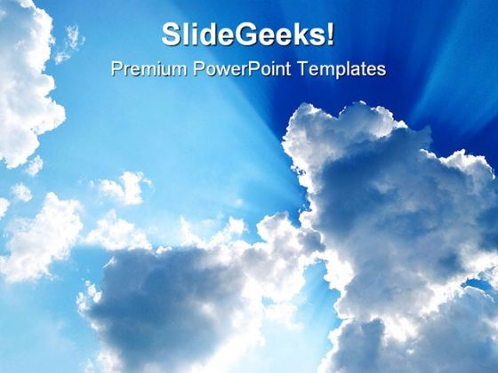Sky Nature PowerPoint Themes And PowerPoint Slides 0611