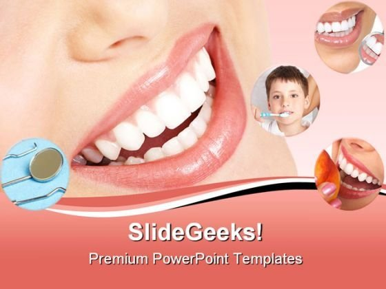 Smile Dental PowerPoint Themes And PowerPoint Slides 0711