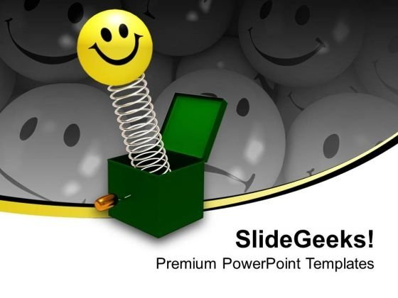 Smiley With Box Face PowerPoint Templates And PowerPoint Themes 1112
