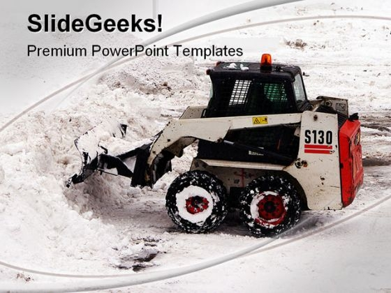 Snow Removal Holidays PowerPoint Templates And PowerPoint Backgrounds 0211