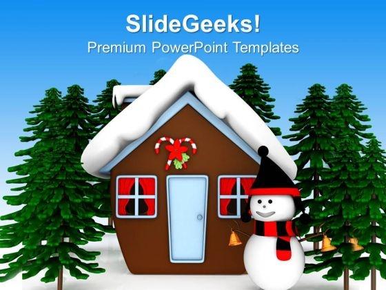 winter powerpoint template