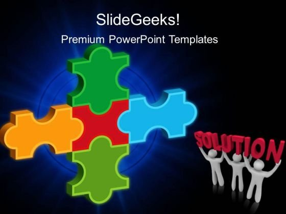 Solution Business PowerPoint Templates And PowerPoint Themes 0212