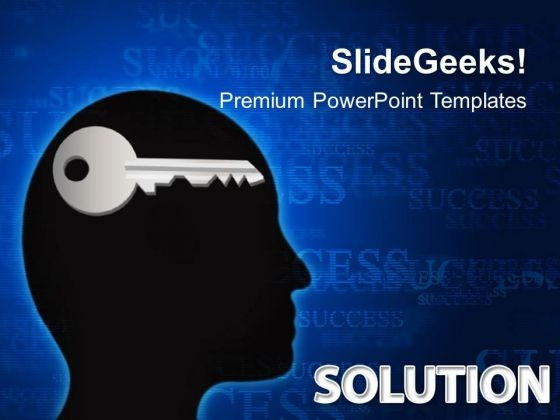 Solution Mind Business PowerPoint Templates And PowerPoint Themes 0412