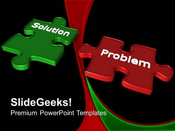 Solution Problem Business PowerPoint Templates And PowerPoint Themes 0612
