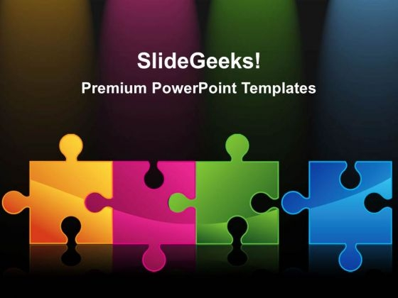 Solution Puzzle Business PowerPoint Templates And PowerPoint Themes 0212