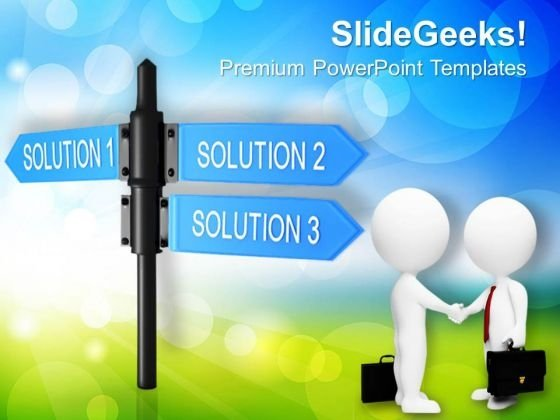 Solutions Finance PowerPoint Templates And PowerPoint Themes 1012