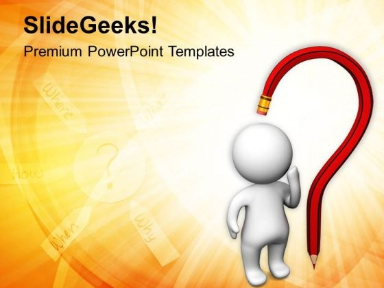 Some People Have More Question PowerPoint Templates Ppt Backgrounds For Slides 0813