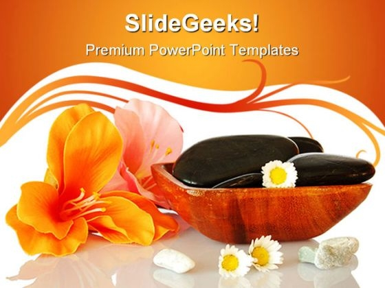 Spa And Wellness Nature PowerPoint Templates And PowerPoint Backgrounds 0311