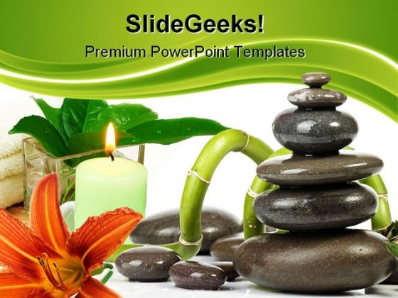 Spa Beauty PowerPoint Backgrounds And Templates 1210