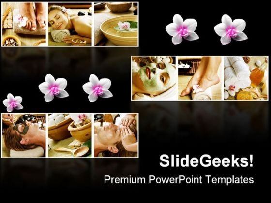 Spa Collage Beauty PowerPoint Themes And PowerPoint Slides 0411