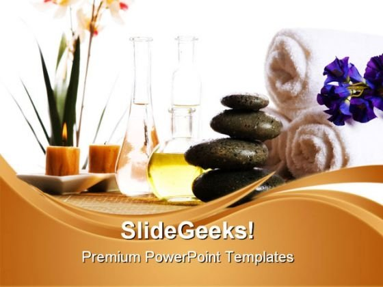 Spa Products Beauty PowerPoint Themes And PowerPoint Slides 0311