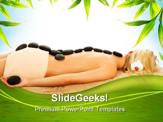 Spa Treatment Nature PowerPoint Templates And PowerPoint Backgrounds 0311