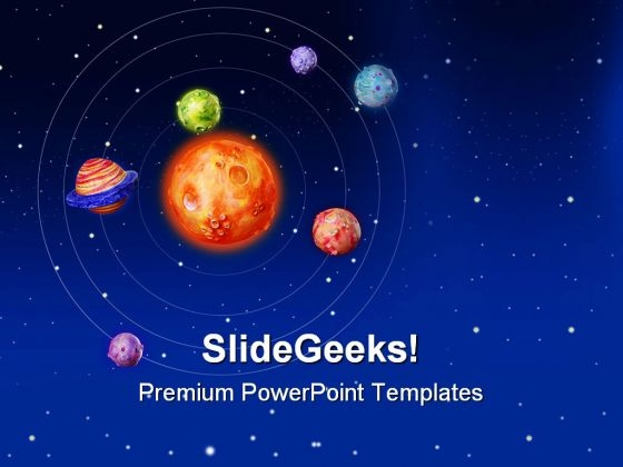 Space Planets Earth PowerPoint Templates And PowerPoint Backgrounds 0611