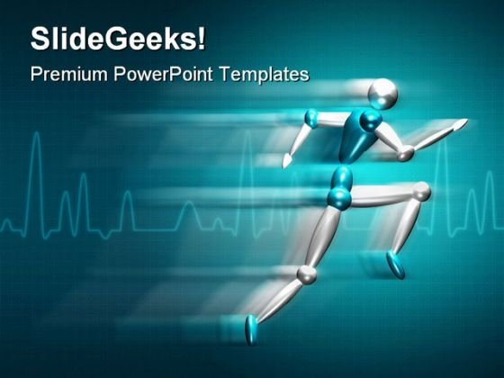 Speed Medical PowerPoint Template 0810