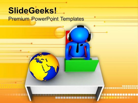 Spread Your Business In All Over The World PowerPoint Templates Ppt Backgrounds For Slides 0613