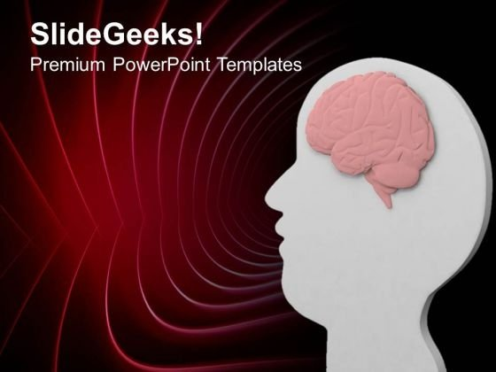 Spritual Vision Of Human Representation PowerPoint Templates Ppt Backgrounds For Slides 0413