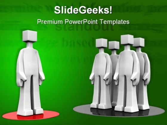 Stand Out Business PowerPoint Templates And PowerPoint Backgrounds 0511