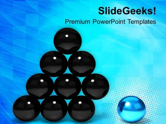 Stand Out From Crowd PowerPoint Templates Ppt Backgrounds For Slides 0413