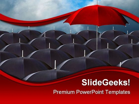 Standout Business PowerPoint Template 0510