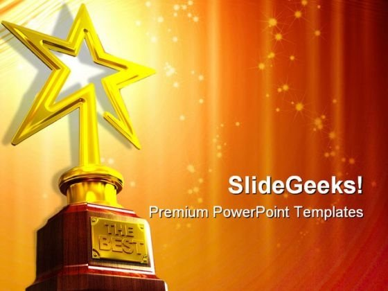 star award entertainment powerpoint templates and powerpoint, Powerpoint