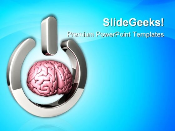 Start Thinking Technology PowerPoint Themes And PowerPoint Slides 0411