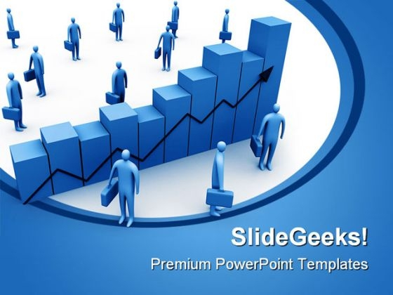 Statistics Graph Business PowerPoint Themes And PowerPoint Slides 0511