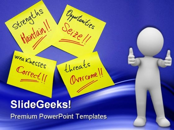 Sticky Notes Business PowerPoint Themes And PowerPoint Slides 0511