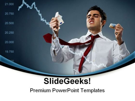 Stock Market Crash Business PowerPoint Templates And PowerPoint Backgrounds 0811