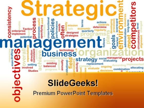 Strategic Management Business PowerPoint Templates And PowerPoint Backgrounds 0811