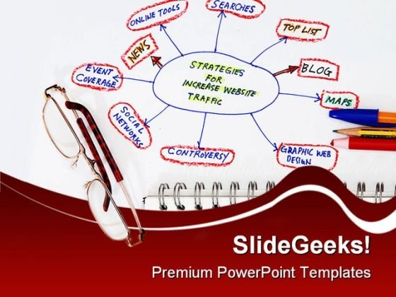 Strategies For Increase In Web Business PowerPoint Templates And PowerPoint Backgrounds 0311