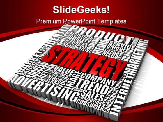 Strategy02 Business PowerPoint Background And Template 1210