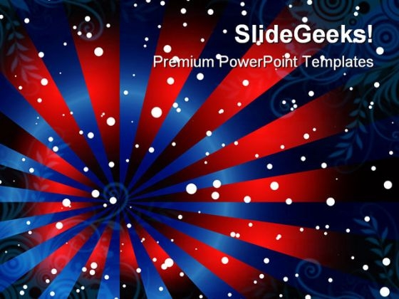 Stripe Background Americana PowerPoint Templates And PowerPoint Backgrounds 0711