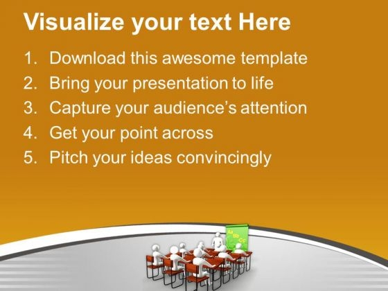 students in classroom education powerpoint templates ppt, Modern powerpoint