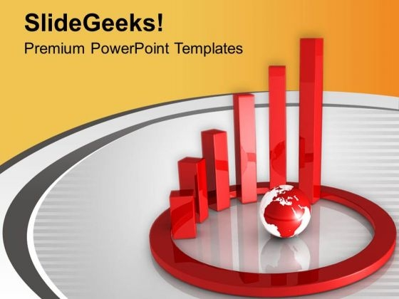 Study The Global Financial Analysis PowerPoint Templates Ppt Backgrounds For Slides 0613