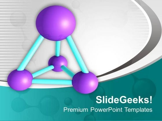 Study The Molecular Structure PowerPoint Templates Ppt Backgrounds For Slides 0513