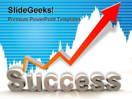 Success Arrow Business PowerPoint Themes And PowerPoint Slides 0511