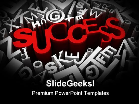 Success Business PowerPoint Backgrounds And Templates 1210