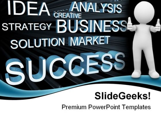 Success Business PowerPoint Themes And PowerPoint Slides 0611