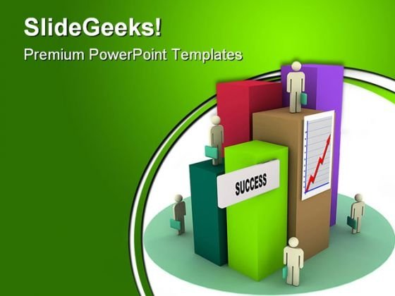 Success City Business PowerPoint Templates And PowerPoint Backgrounds 0411