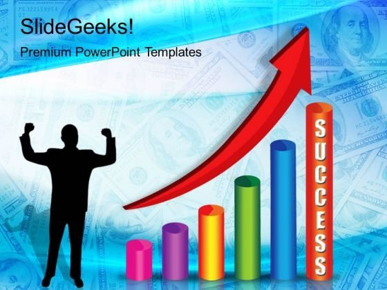 Success Graph Business PowerPoint Templates And PowerPoint Themes 0212