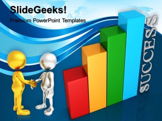 Success Graph Business PowerPoint Templates And PowerPoint Themes 0512