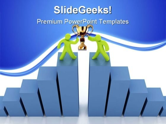 Success Graph Business PowerPoint Themes And PowerPoint Slides 0511