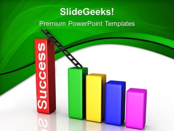 Success Stairs Future PowerPoint Templates And PowerPoint Themes 0512