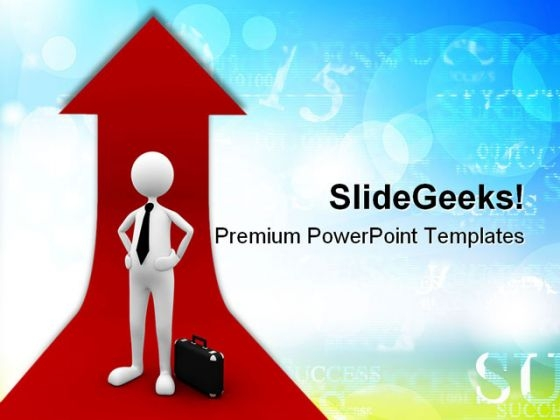 Successful Business PowerPoint Templates And PowerPoint Backgrounds 0611