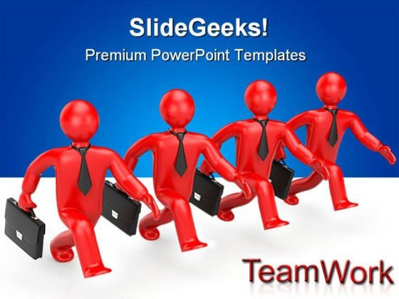 Successful Team Business PowerPoint Themes And PowerPoint Slides 0511