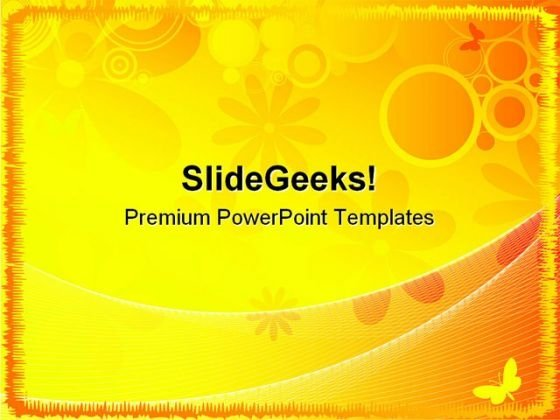 Summer Abstract Background PowerPoint Themes And PowerPoint Slides 0511