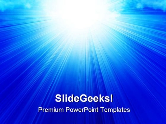 Sunlight Abstract Background PowerPoint Themes And PowerPoint Slides 0511
